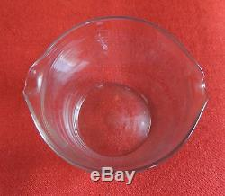 Antique Georgian Crystal Blown Glass Wine Rinser Early 19th c. Polished Pontil