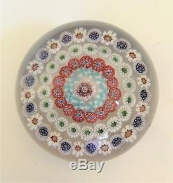 Antique. Hand-blown glass paperweight. Mid 19th Century by Baccarat