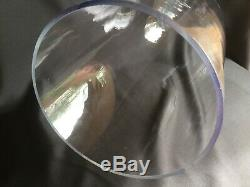 TALL VINTAGE Hand Blown GLASS Dome FRENCH Display Garden CLOCHE 20.5 H